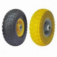Buy cheap 10 Inches Flat Free Wheels from wholesalers