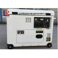 Wholesale Electric Start 5.5kw Diesel Generator , Brush with AVR , Straight Shaft Coupling from china suppliers