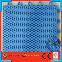Wholesale Removing Outdoor Basketball Flooring Light Blue For Sport Court from china suppliers