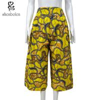 Wholesale 100 Percent Cotton African Print Pants Clothing Relaxed Wax Printed Anti Static from china suppliers