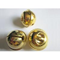 Wholesale Decorating for Christmas with Jingle Bells in golden color from china suppliers