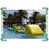 Wholesale PVC Tarpaulin Inflatable Water Parks Floating Obstacle Course AquaTrack from china suppliers