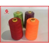 Wholesale 40/2 5000Y Spun Polyester Thread Bright Color High Tenacity / Coats Polyester Thread from china suppliers
