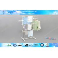 Wholesale 3 Tier Mobile Indoor Outdoor Clothes Drying Rack for Clothes / Towels from china suppliers