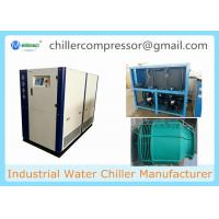 Wholesale 25HP Water Cooled Scroll Chiller for Plastic Injection Machine with Cooling Tower from china suppliers