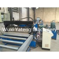 Wholesale Gcr15 Material Cable Tray Roll Forming Machine With Conveyor Feeding 75mm Shaft Diameter from china suppliers