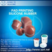 Quality Liquid Pad Printing Silicone Rubber Material for sale