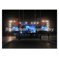 Wholesale High Brightness P10 Led Full Color Display with MBI5024 IC 160 x 160 mm from china suppliers