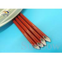 Wholesale 2760 Silicone Fiberglass Sleeving , electrical insulation sleeving 7.0KV from china suppliers