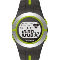 Quality Men's Heart Rate Monitor Watches Women Round Sporty Watches With Calories Calculation 10atm Water Proof for sale