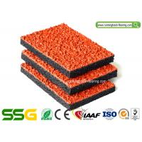 Wholesale Air-permeable Synthetic Plastic Running Track Surfaces / Outdoor Floor Mats from china suppliers