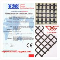 Wholesale Fiberglass geogrid with CE approved for road construction from china suppliers