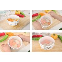 Wholesale 4 Pack BPA Free Eco-friendly Silicone Food Magic Wrap Stretch Film from china suppliers