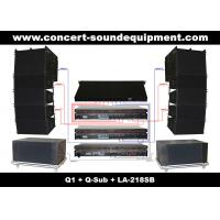 "Wholesale 480W Concert Sound Equipment , Full Range Line Array Speaker With1.4""+2x10"" Neodymium Drivers from china suppliers"