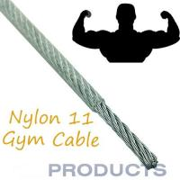 Wholesale Nylon Coated Steel Cable , 11 Gym Steel Wire Rope Customized Available from china suppliers