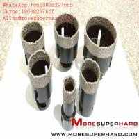 Wholesale Vacuum brazing diamond bit processing natural stone, reinforced concrete, high strength ceramic  Alisa@moresuperhard.com from china suppliers