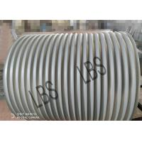 Buy cheap Right-hand rotation Grooved drum/ Lebus Grooved Sleeves / Wire Rope Drum from wholesalers