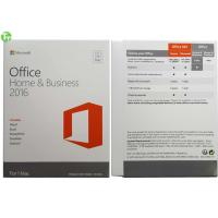 Quality Microsoft Office Retail Box , Microsoft Office 2016 Pro home and business for MAC PKC Version for sale