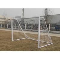 Wholesale 5 Man Adult Football Goals 3m x 2m Steel Removable Portable Soccer Goals from china suppliers