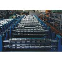 Buy cheap 0 - 15m/min PLC Double Layer Roll Forming Machine For Two Roofing Profiles from wholesalers