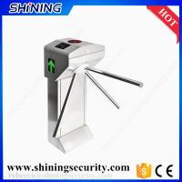 Quality 304 stainless steel card reader tripod turnstile factory price for sale