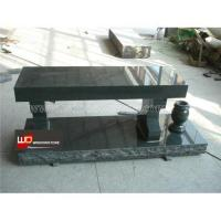 Quality Granite Cremation Bench Monuments for sale