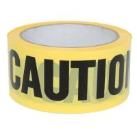 China Yellow PE Warning Tape(Barrier Caution Tape),Red DANGER Tape Caution Tape Roll 3-Inch Non-Adhesive Sharp Red Color Warni on sale