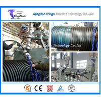 Wholesale China PE / PP Spiral Corrugated Winding Pipe Extrusion Line / Manufacturing Machine from china suppliers