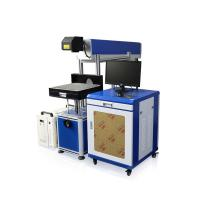 China Water Cooling CO2 Laser Marking Machine Making Wedding Invitation Card on sale