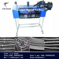 Quality plastic endless loop around ball chain mould and roller blinds curtains endless bottom chain making machinery machinery for sale