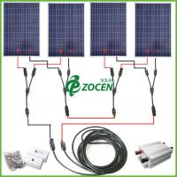 Wholesale Stand Alone Portable 400W Ground Solar Panel Mounting Systems 110V - 240V from china suppliers