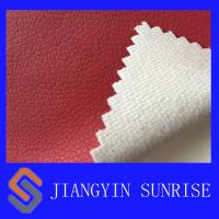 Wholesale Eco - Friendly Red Car Seat Covers Leather / Auto Upholstery Leather from china suppliers