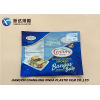 Wholesale Oxygen Resistant 3 Side Heat Seal Plastic Bags for Sea Food Packaging CE / ROHS from china suppliers