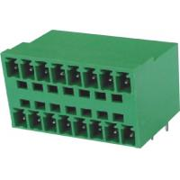 Wholesale Male Pluggable Terminal Blocks Connector 3.5mm 16 pin 90°DIP  PA66 from china suppliers