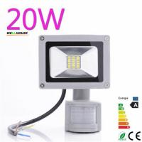Wholesale Waterproof High Power 20w 1600LM Cool/Warm White SMD Led Lamp Floodlight Led Sensor Flood Light Garden Outdoor Lighting from china suppliers