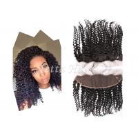 Wholesale 13'  X 4'' Smooth Soft Virgin Hair Lace Frontal Closure With Baby Hair from china suppliers