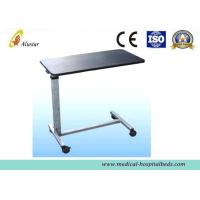Wholesale Fireproof Wood Over-Bed Table Dining Table Hospital Bed Accessories ISO9001 (ALS-A09) from china suppliers
