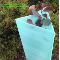 China Plastic PP material corflute plants tree shelter / CORFLUTE WELDED GUARD 450MM for sale