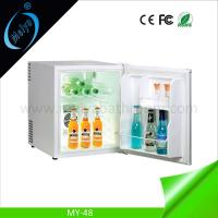 Quality 48L wholesale small fridge for hotel, mini fridge with lock for sale