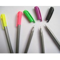 Wholesale fine tip triangular fineliner pen,triangular fineliner marker pen from china suppliers