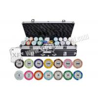 Wholesale ISO 9001 Casino Cheating Devices Customized Crown Chips With Ceramic / Clay from china suppliers