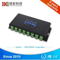 Wholesale Zhuhai professional ws2811 RGB ethernet to dmx SPI controller from china suppliers