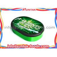 Wholesale Customize Sugarless Breath Mints In Oval Box , Low Calorie Candy Sugar Free from china suppliers