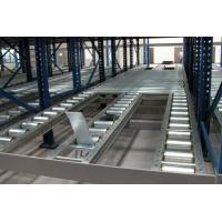 Wholesale 1000kg Logistic distribution central gravity flow racks with roller track , customized from china suppliers