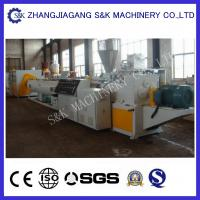 Wholesale High Capacity Plastic Pipe Extrusion Line , Water Drainage Pipe Twin Screw Extrusion Equipment from china suppliers