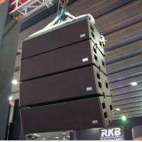 Wholesale High Power Output Church Line Array Speakers Three - way Daul 10 inch from china suppliers