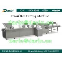Wholesale DRC-75 Peanut Brittle / Peanut Crunch Bar / Sesame Candy Bar Making Machine Cutting Line with Touch Screen from china suppliers