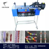 plastic round beads string rosary  ball chain making machine for roller blinds curtains zebra