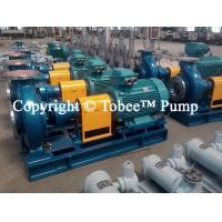 Wholesale Tobee™ TIH Petrochemical Pump from china suppliers