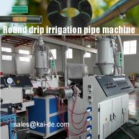 Quality hot selling low price inline round drip irrigation pipe making machine production line extrusion machine plant equipment for sale